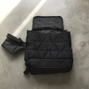 Lululemon quilted backpack